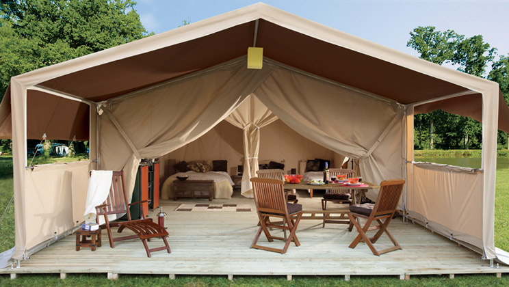 Tente Safari   Louez une tente safari de luxe au camping
